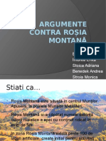 Argumente Contra Roșia Montană