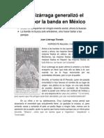 Cruz Lizárraga - Dos Entrevistas