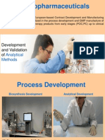 Development and Manufacture of Biological Products
