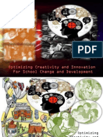 Poster on Optimizing Creativity