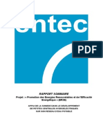 Analyse du potentiel hydroélectrique des petites centrales (2012)