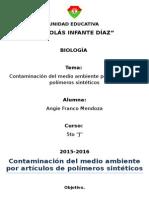 Polimeros Sinteticos Impacto Ambiental 2