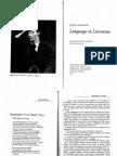 Jakobson and Levi Strauss