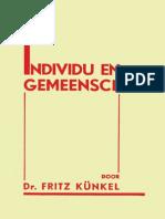 1932 Fritz Künkel_Individu en Gemeenschap