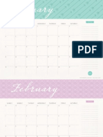 Elli Calendar 2015