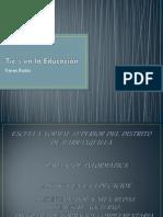 Tic´s en la Educación