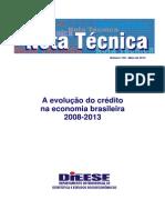 Credito Na Economia Brasileira Dieese