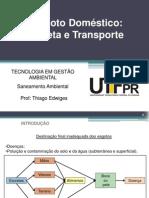 5.1 Esgotos Domesticos - Coleta e Transporte
