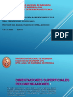 Cimentaciones Superficiales Ec 521g