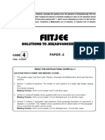 Jee(Adv) 2015 Solution Paper 2