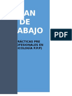 Plan de Trabajo Practicas Pre Profesionales Eliseo David Hurtado Marchena