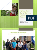 Making Sense Sensory Processing Disorder103114