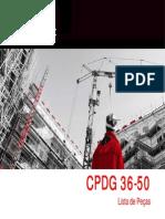 Lista de Pecas CPDG36-50 Cramaco-Weg