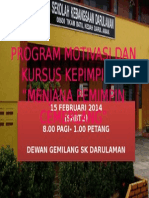 Background Program Kepimpinan