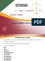 1 Semana Derecho Romano - 2015 (2)