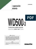 WD500-3 Manual de Operacion y Mantenimiento (1)