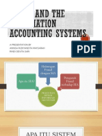 fraud and the information accounting systems