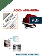 """2) Ingreso y Salida - Manifiesto - Destinaciã""""n - Prenda"""