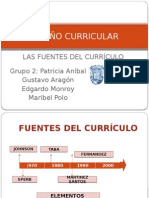 FUENTES DEL CURRÍCULO_