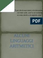 LINGUAGGI ARITMETICI