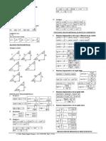 Formulario Básico de Trigonometría