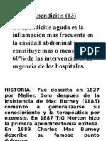 (13) Apendicitis - DR. MONTALVO