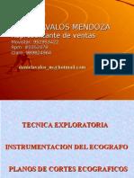 Tecnica Exploratoria - Ecografo Mindray - Instrumentación (Manejo)