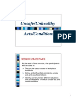 3_Unsafe Unhealthy Acts Conditions D
