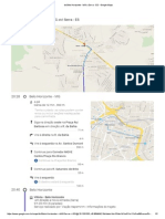 De Belo Horizonte - MG a Serra - ES - Google Maps