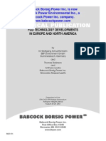 Fgd Technology Developments in Europe and North America