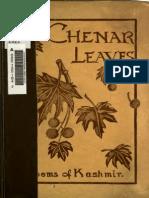 Chenar Leaves- Poems of Kashmir