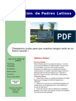 Flyer for Latino Parent Coalition