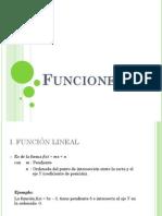 Funciones Lineal