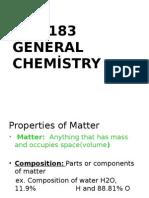 Genel Kimya Makina 1.Öğretim