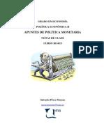 Apuntes de Política Monetaria 2014-15 (1)