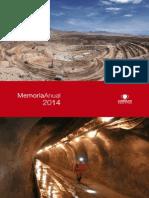 Memoria Anual Codelco 2014