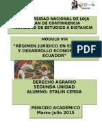 Guia de Actividades Segunda Unidad Derecho Agrario