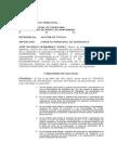 Accion de Tutela Riccardo Hernández- Concejo Municipal Chinácota