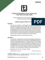 Adilson Aquino Silveira Júnior - O Nexo Necessário e Vital