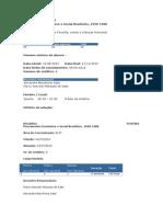 Disciplina FLH5384 - Alexandre e Flavio Saes