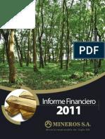 Ejemplo de informe financiero