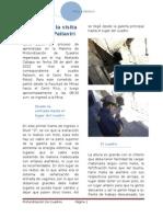 Informe de La Visita Al Cuadro de Pailaviri