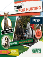 An Introduction to Fox Hunting