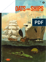 How and Why Wonder Book of Boats and Ships
