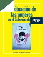 La Situacion politica en bolivia