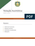 Notacao Assintotica
