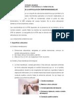 Anatomía de La Articulación Temporomandibular