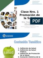 1. CLASE N° 1 PROMOCION DE LA SALUD 30.05.15