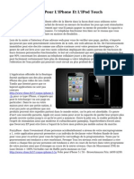 La Mafia Des Jeux Pour L'IPhone Et L'IPod Touch