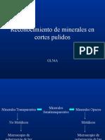 Reconocimiento de Minerales.